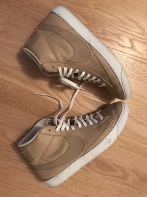 Nike Blazer Mid Premium Men's Shoes Linen/White size 10 for Sale in San Francisco, CA