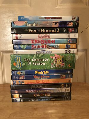 CHILDREN'S BLU RAY DVD AND MOVIE BUNDLE for Sale in Glendale, AZ