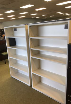 White bookcases for Sale in San Diego, CA