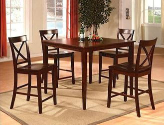 Theodore Espresso 5-Piece Counter Height Set for Sale in College Park,  MD