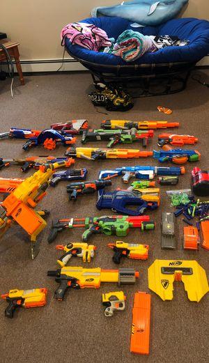 Nerf Gun lot for Sale in Cumberland, RI