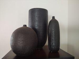 Terra cotta vase set for Sale in Palm Bay, FL