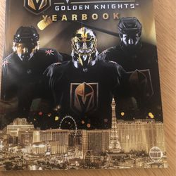 Vegas Golden Knight Inaugural Season YEARBOOK for Sale in Las Vegas,  NV