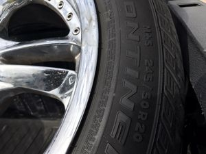 20 inch Chevy 5 lug (cheap)!!!! for Sale in Fresno, CA