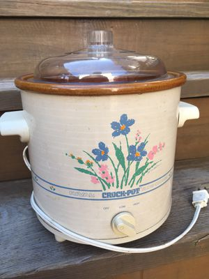 Vintage Rival Crock Pot - 3.5 Qt - Works Great for Sale in Chicago, IL
