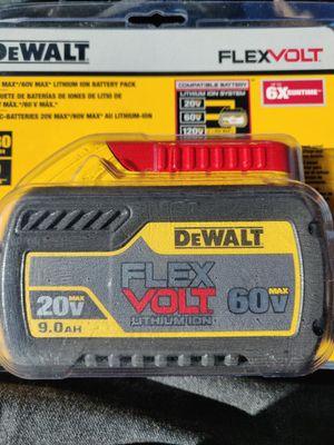DEWALT FLEXVOLT 9.0 AMP BATTERY for Sale in Fremont, CA