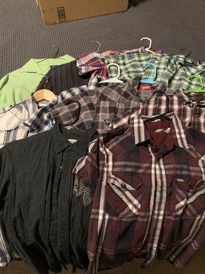 Men's shirt lot for Sale in Auburn, WA