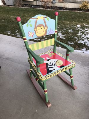 Fantasy Fields kids sunny safari rocking chair for Sale in West Valley City, UT