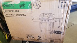 Blue bbq grill new in box for Sale in Modesto, CA