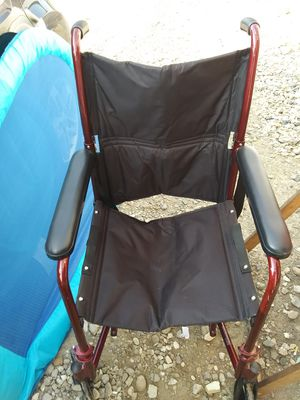 Chair with wheels lightweight with paddles for Sale in OH, US