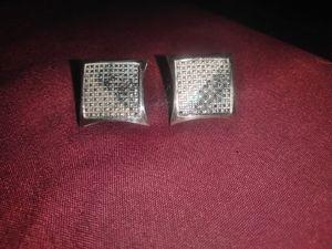 Diamond earrings (REAL) for Sale in Swissvale, PA