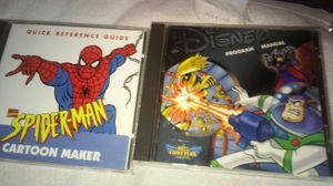 Spiderman & Buzz light year cd-rom for Sale in St. Louis, MO