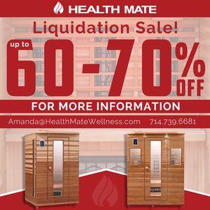 Health Mate Sauna - Liquidation Sale! for Sale in Buena Park, CA
