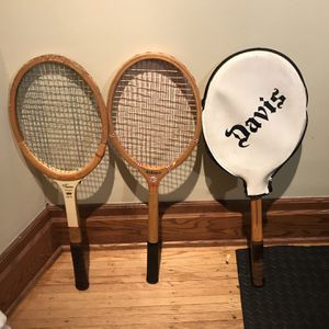 Tennis Rackets (3) Vintage Wooden for Sale in Rochester, NY