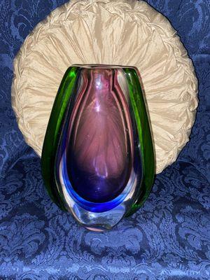Murano style Glass Vase for Sale in Dallas, TX