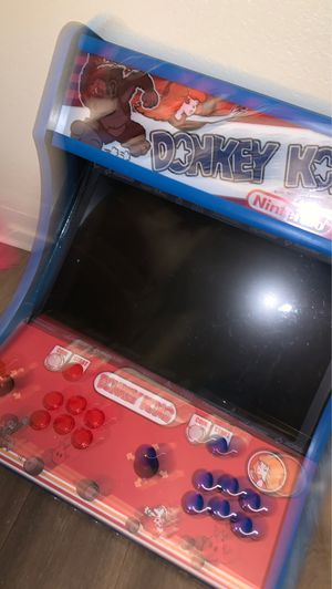 Hand made high quality bar top arcade for Sale in Glendale, AZ