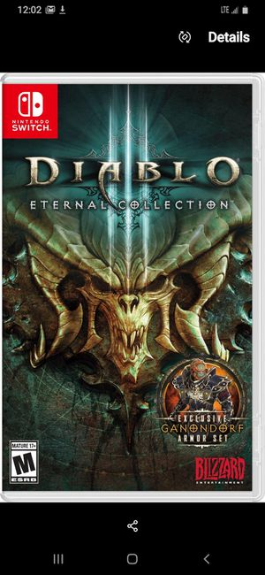 I have Diablo 3 and Dark Souls remastered for the switch for Sale in Burien, WA