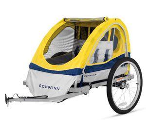 Schwinn aluminum double bike trailer for Sale in Vancouver, WA