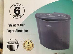 Paper shredder works great !! for Sale in Henrico, VA