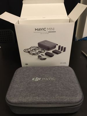 DJI Mavic Mini Fly More Combo with 3 batteries and case for Sale in San Diego, CA