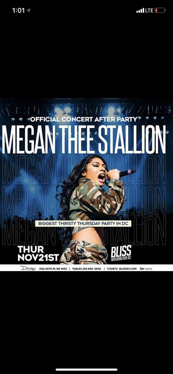 Megan The Stallion Live Concert After Party