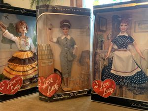 "Mattel ""I Love Lucy"" Collectors Edition dolls for Sale in Peoria, IL"
