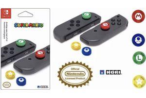 Nintendo Switch Joy Con Joystick Analog Thumb Stick Grip Silicone Case Caps FPS Hori Super Mario Arcade Mario Luigi Toad Star *Brand New* for Sale in Marysville, WA