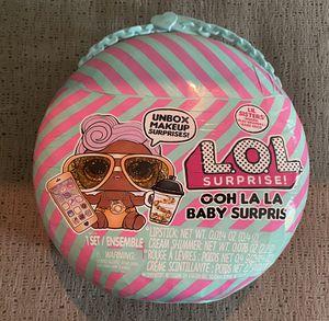 L.O.L. Surprise! Ooh La La Baby Surprise Lil D.J. with Purse & Makeup Surprises for Sale in Houston, TX