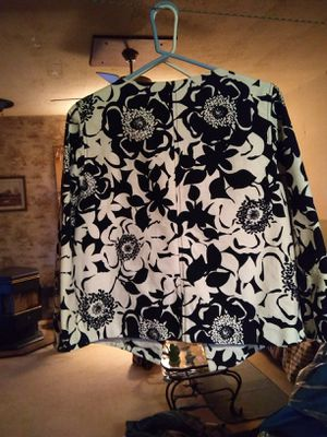 Black and White Merona Dress Jacket for Sale in Woodburn, OR