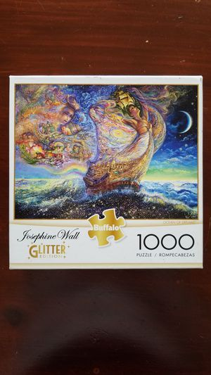 Josephine Wall Glitter Edition Buffalo puzzle 1000 pieces Negotiable for Sale in VLG WELLINGTN, FL