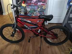 Next 20'' wipe out bike in new condition for Sale in Fairfax, VA