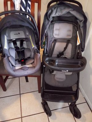 Safety 1st navy blue car seat and stroller for Sale in Phoenix, AZ