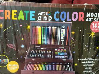 ART101 CREATE & COLOR WOOD ART SET - 142 PIECES - NEW for Sale in McDonough,  GA