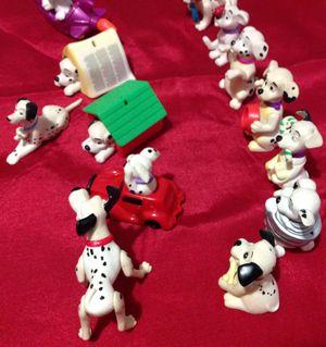 Dog Action Figure Disney 101,102 Dalmatians Random, Lot of 16 for Sale in La Vergne, TN