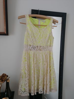 Vintagey bright yellow and lacs dress for Sale in Nashville, TN