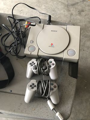 PlayStation (Original) with games and memory cards for Sale in Dundee, FL