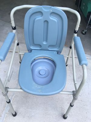 Camping or Handicap Commode Toilet Chair for Sale in Arvada, CO