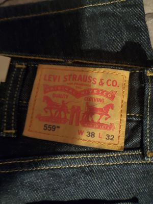 Brand new Levis size 38x32 559's for Sale in San Jose, CA