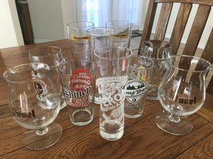 (IRVING, TX) Assorted Vintage and Collectable Beer Glasses for Sale in Irving, TX