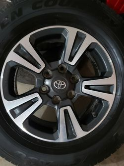 Totota Tacoma TRD Sport Wheels with TPMS Included for Sale in Hillsboro,  OR