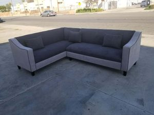 NEW 7X9FT ANNAPOLIS GRANITE FABRIC SECTIONAL COUCHES for Sale in San Diego, CA