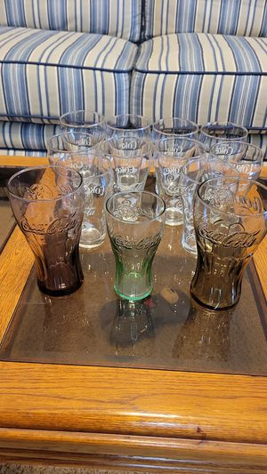 Vintage Coca Cola Glasses..Private Collection for Sale in Stokesdale, NC