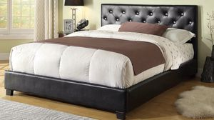Queen bed frame with mattress 350$ for Sale in Chicago, IL