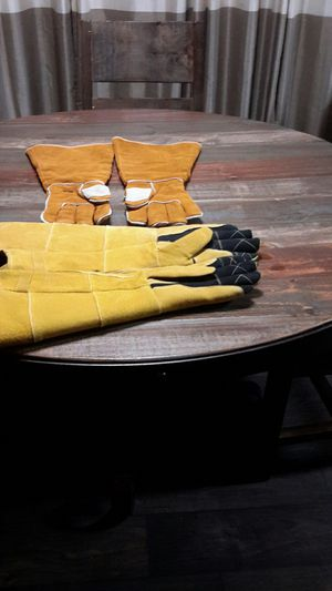 Welders Gloves size Large for Sale in San Antonio, TX