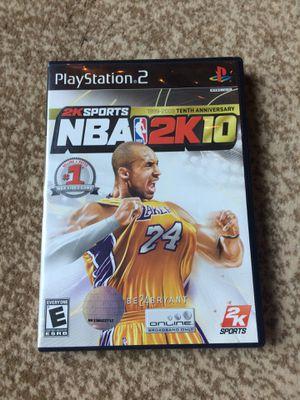NBA 2K10 for Sale in San Francisco, CA