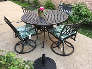 10 piece outdoor garden patio furniture dining set high quality for Sale in Blue Island, IL