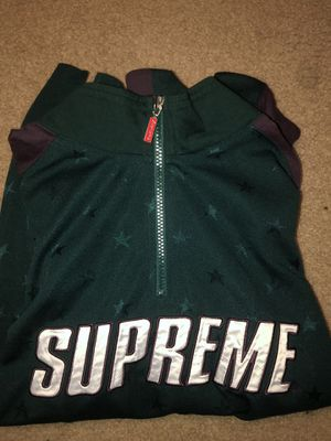 Supreme long sleeve track jacket for Sale in Coppell, TX
