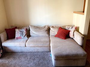 Sectional and dining table for Sale in Federal Way, WA