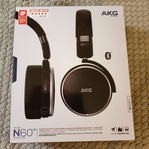 AKG by Harmon N60NC Wireless Noise Cancelling Bluetooth Headphones Brand New for Sale in Glenshaw, PA