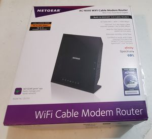 Netgear C6250 AC1600 WiFi Cable Modem Router for Sale in Tamarac, FL